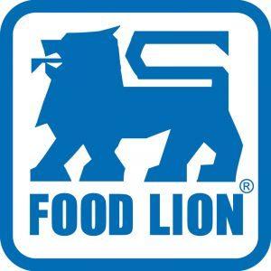Food Lion logo - blue