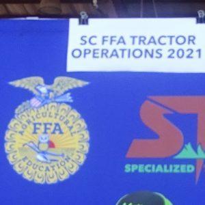 SC FFA Tractor banner