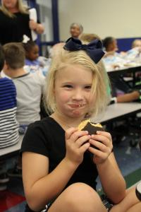 Eclipse Moon Pie , Clinton Elementaryby District 56 staff