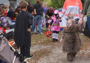 Falloween-porcupine